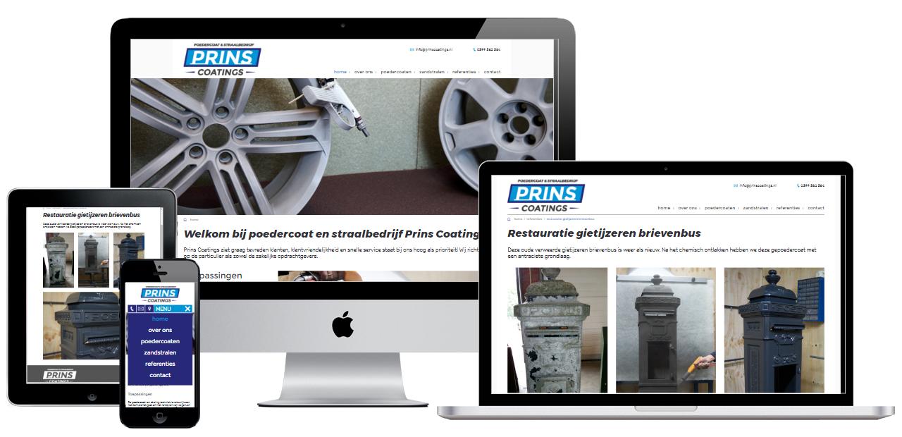webdesign voorbeelden stadskanaal meubelmaker